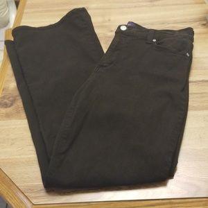 NYDJ Brown Jeans